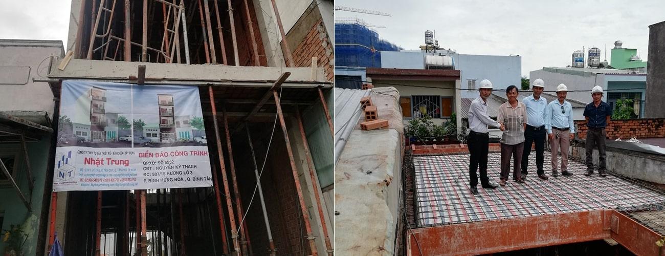 Xây nhà trọn gói Hương Lộ 3, TP HCM