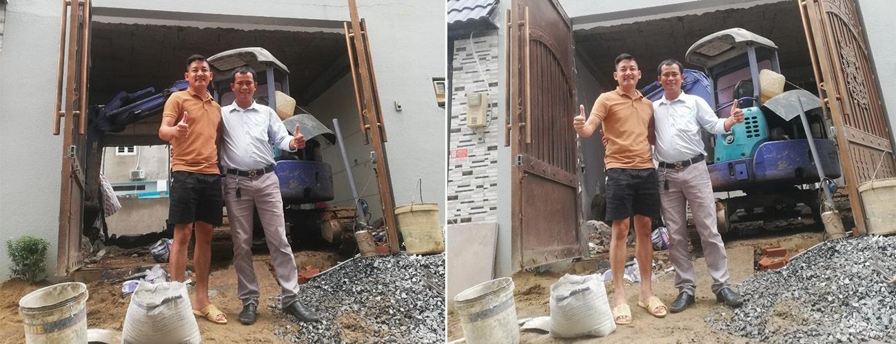 Sửa nhà diễn viên Thành Đạt